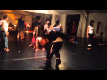Ulli and Katya, contact dance. Ibiza festival 2014